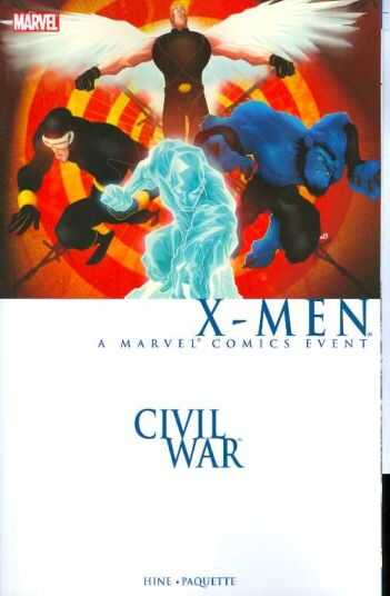 Marvel - Civil War X-Men TPB