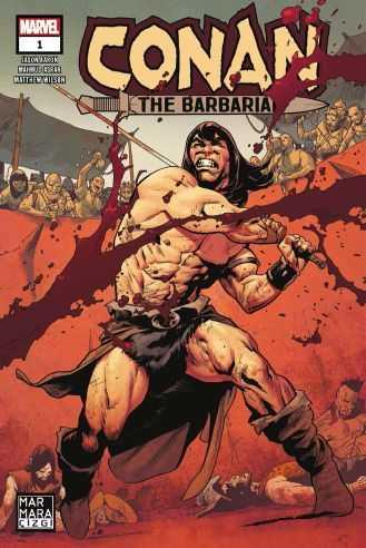 Marmara Çizgi - Conan The Barbarian Sayı 1