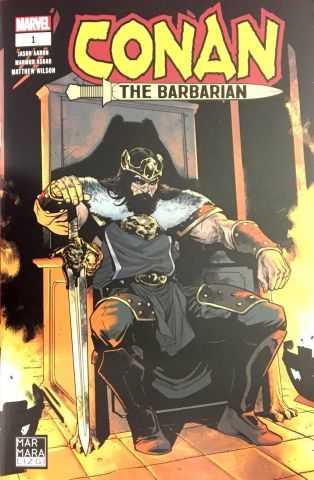 Marmara Çizgi - Conan The Barbarian Sayı 1 Paralel Evren Özel Kapak