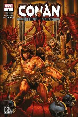 Marmara Çizgi - Conan The Barbarian Sayı 2