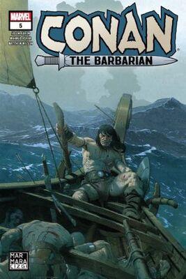 Conan The Barbarian Sayı 5