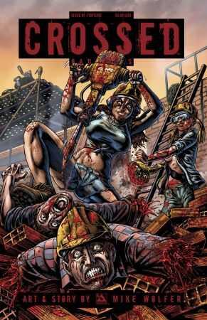 Avatar - Crossed Badlands # 81 Torture Variant
