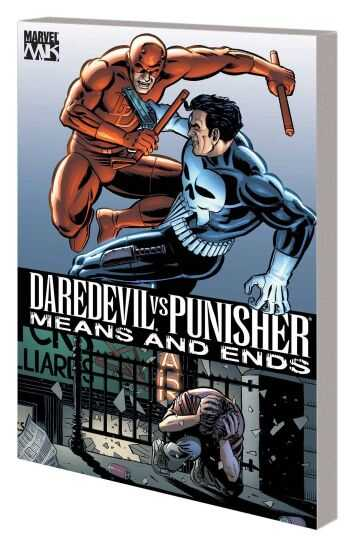 Marvel - Daredevil Vs Punisher Means And Ends TPB