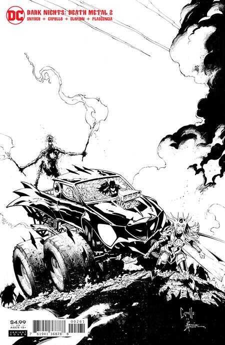 DC - Dark Nights Death Metal # 2 1:100 B&W Variant