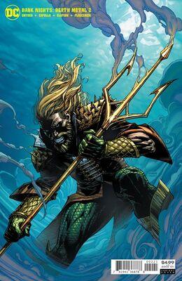 Dark Nights Death Metal # 2 Finch Aquaman Variant
