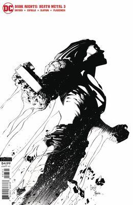 Dark Nights Death Metal # 3 1:100 Capullo B&W Variant