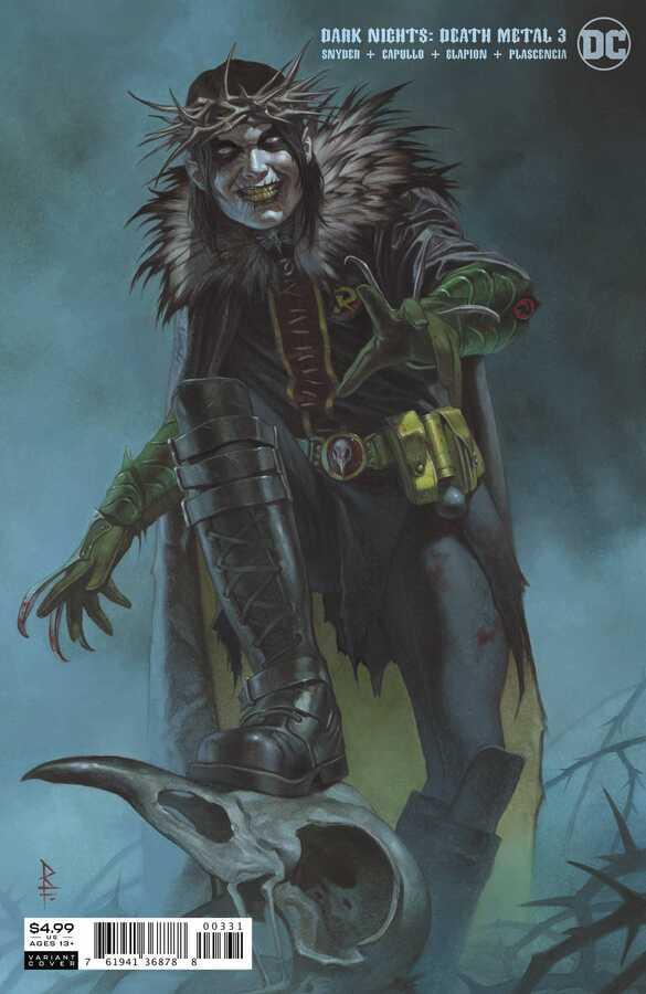 Dark Nights Death Metal # 3 Ricardo Federici Variant