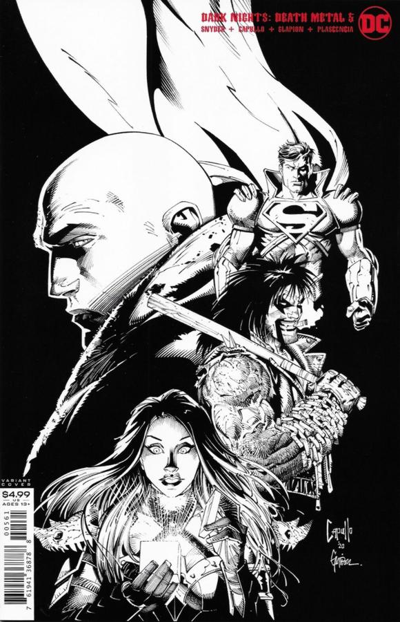 DC - Dark Nights Death Metal # 5 1:100 Variant