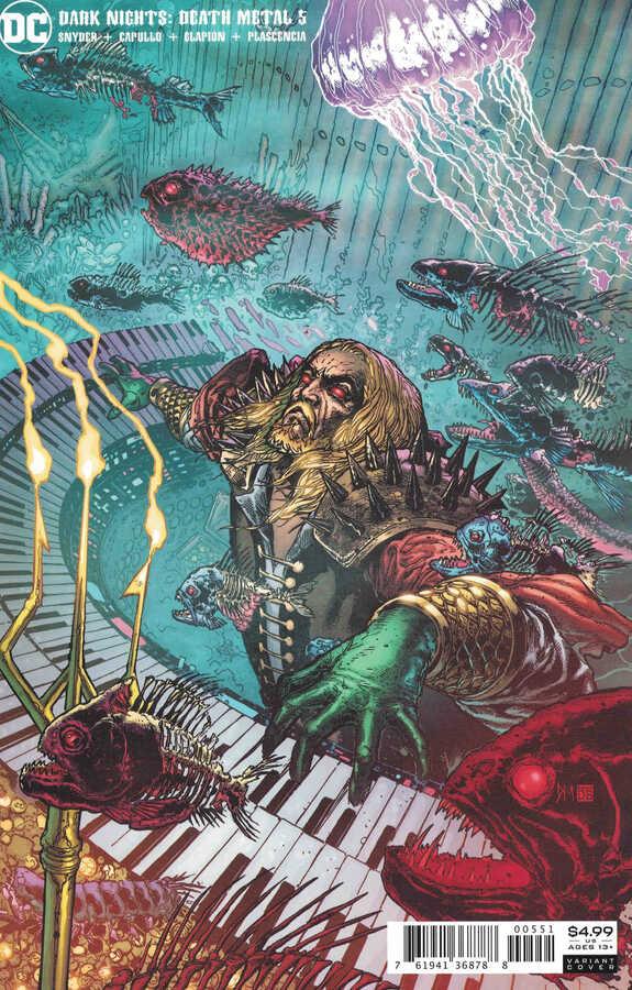 DC - Dark Nights Death Metal # 5 1:25 Variant
