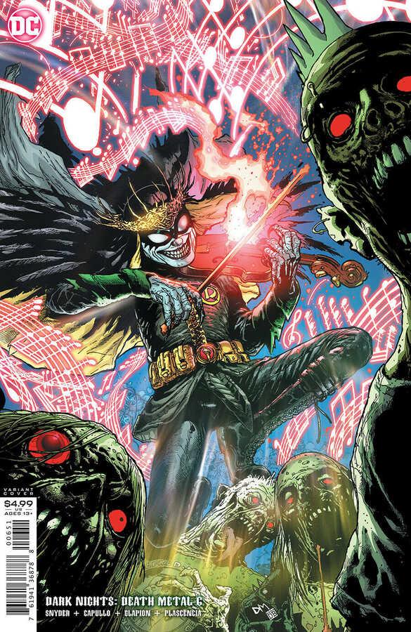 DC - Dark Nights Death Metal # 6 1:25 Variant
