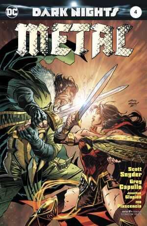 DC - Dark Nights Metal # 4 Andy Kubert Variant