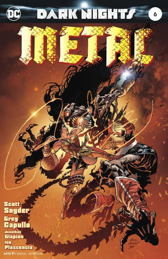 DC - Dark Nights Metal # 6 Andy Kubert Variant