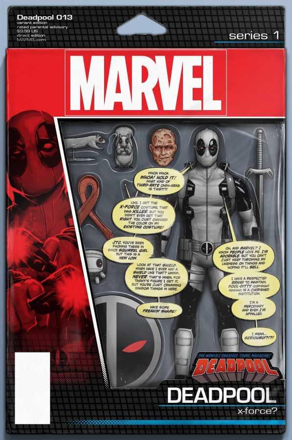 Marvel - Deadpool # 13 Action Figure Variant