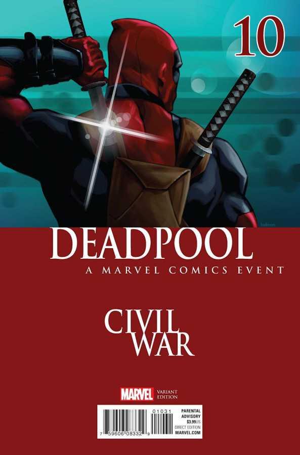 Marvel - Deadpool # 10 Andrasofszky Civil War Variant