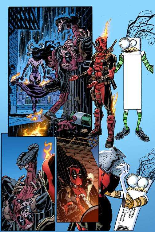 Marvel - Deadpool # 12 Secret Comic Variant