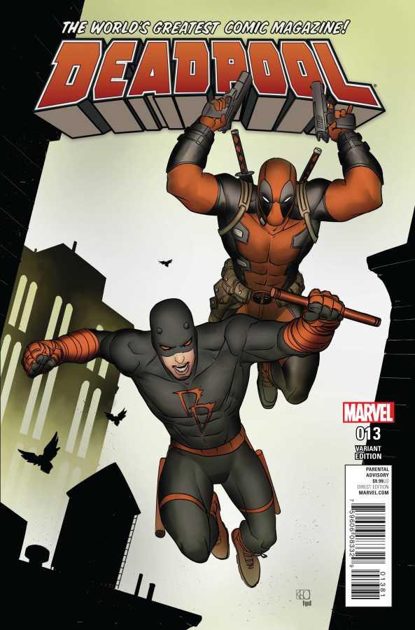 Marvel - Deadpool # 13 Pham Daredevil Variant