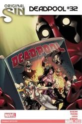 Marvel - Deadpool # 32 Original Sin
