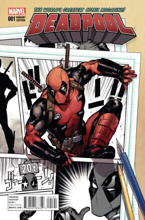 Marvel - Deadpool # 1 Shirahama Variant