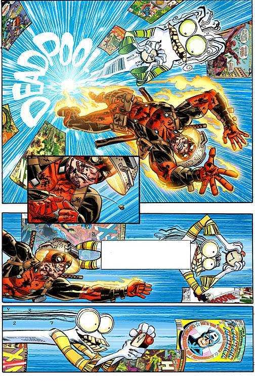 Marvel - Deadpool # 11 Secret Comic Variant