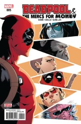 Marvel - Deadpool & The Mercs For Money (2. Seri) # 5