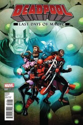 Marvel - Deadpool Last Days Of Magic # 1 Lim Variant