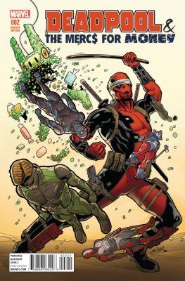 Deadpool Mercs For Money # 2 (Vol 2) 1:25 Sliney Variant