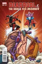 Marvel - Deadpool & The Mercs For Money (1. Seri) # 1 Lim Variant