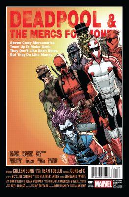 Deadpool & The Mercs For Money (2. Seri) # 1 Camuncoli Variant