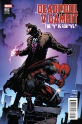 Marvel - Deadpool V Gambit # 2 Stroman Variant