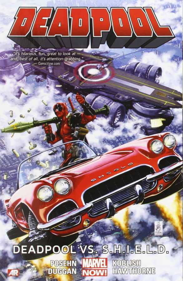 Marvel - Deadpool Vol 4 Deadpool vs S.H.I.E.L.D. TPB