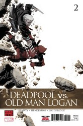 Marvel - Deadpool vs Old Man Logan # 2