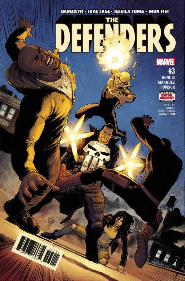 Marvel - Defenders # 3