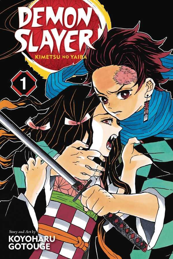 VIZ - Demon Slayer Kimetsu No Yaiba Vol 1 TPB