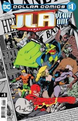 DC - Dollar Comics JLA Year One # 1
