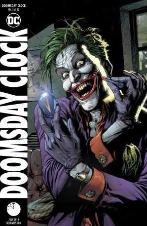 DC - Doomsday Clock # 5 Variant