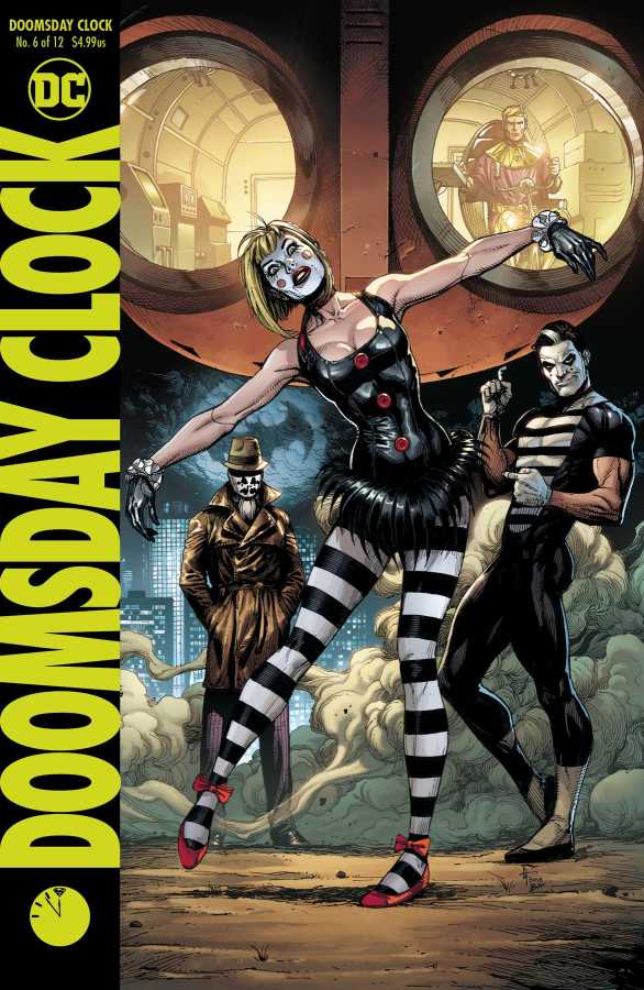 DC - Doomsday Clock # 6 Variant