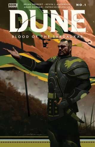 Boom! Studios - DUNE BLOOD OF THE SARDAUKAR # 1 COVER A DEKAL