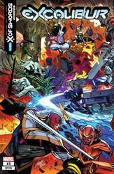 Marvel - Excalibur # 15 LARRAZ CONNECTING VAR XOS