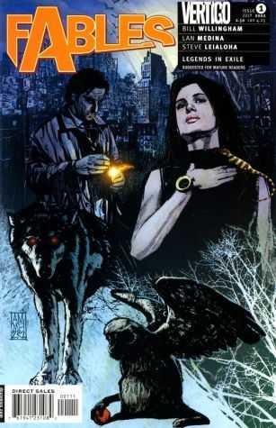 Vertigo - Fables # 1 Maleev Cover