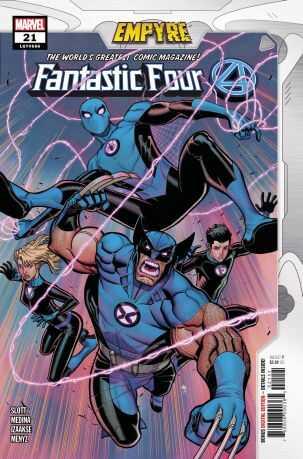 Marvel - Fantastic Four # 21