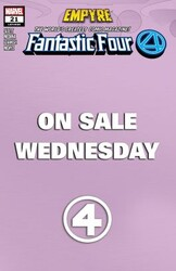 Marvel - Fantastic Four # 21 Wednesday Variant