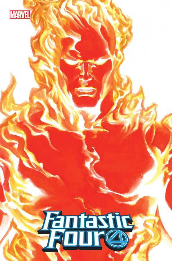 Marvel - Fantastic Four # 24 Alex Ross Human Torch Timeless Variant