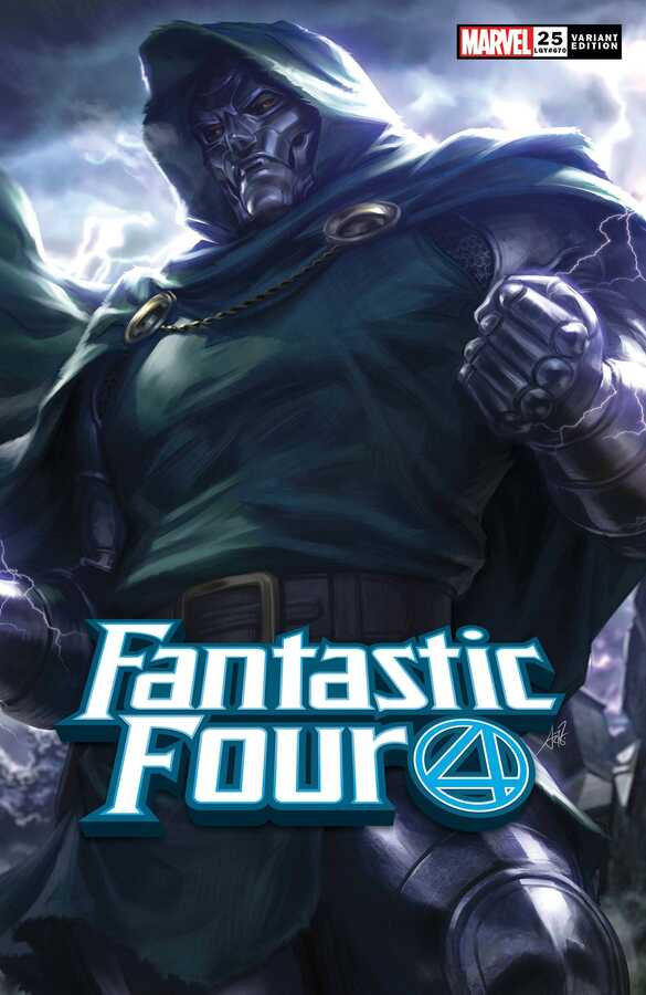 Marvel - Fantastic Four # 25 Artgerm Variant