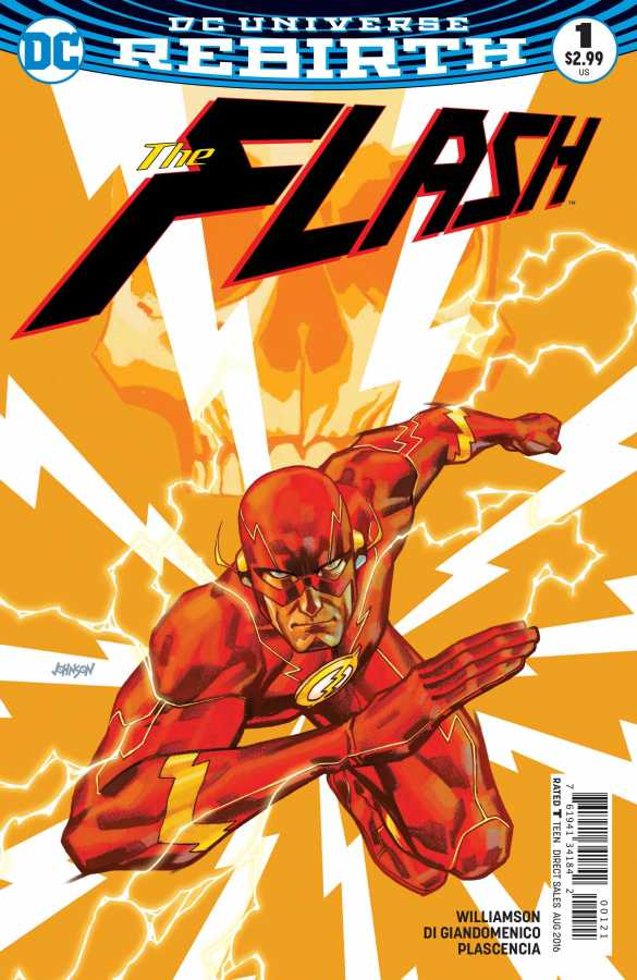 DC - Flash # 1 Variant