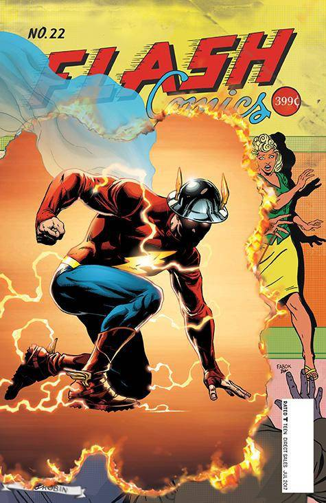 DC - Flash # 22 (The Button)