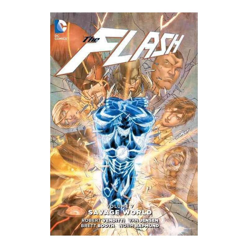 DC - Flash (New 52) Vol 7 Savage World HC