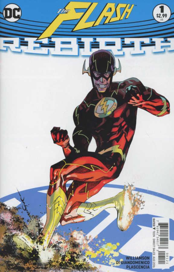 DC - Flash Rebirth # 1 Variant