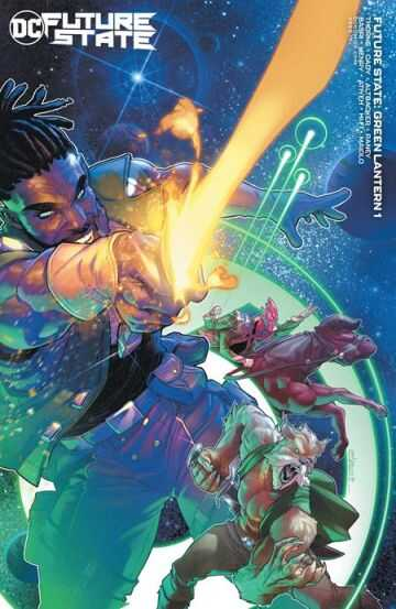 DC - FUTURE STATE GREEN LANTERN # 1 (OF 2) CVR B JAMAL CAMPBELL CARD STOCK VARIANT