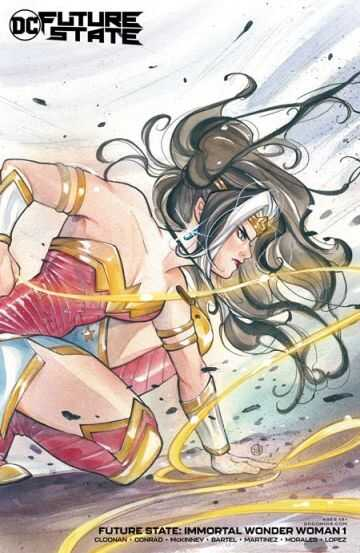 FUTURE STATE IMMORTAL WONDER WOMAN # 1 (OF 2) CVR B PEACH MOMOKO CARD STOCK VARIANT