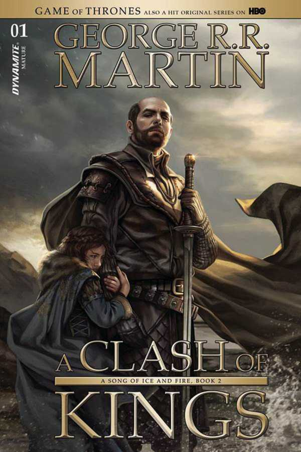 Dynamite - Game of Thrones Clash of Kings # 1 Villeneuve Variant